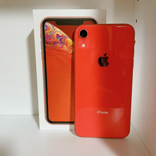 iPhone - iPhoneXR オレンジ128GB