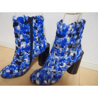 Maison Martin Margiela - 【最終値下げ!】未使用!メゾンマルジェラ mm6 足袋定番 ブルー ブーツ