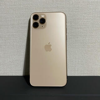 Apple - iPhone 11 Pro 256GB ゴールド SIMフリー 中古美品