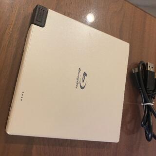 パイオニア(Pioneer)のPioneer BDR-XD05W2 USB 外付け ブルーレイドライブ(PC周辺機器)