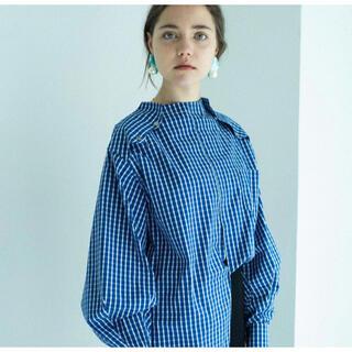 TODAYFUL - mamu online stand collar shirts blue