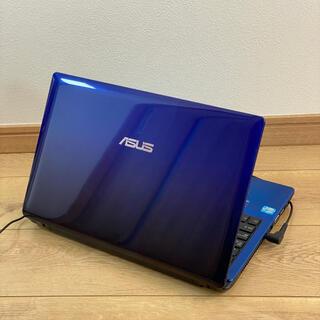 ASUS - レア色ブルー★カメラ付★ すぐ使える電源コードつき/優秀Core i5