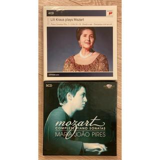 ハスキル&ピレシュ モーツァルトソナタ全集2セット9CD(クラシック)