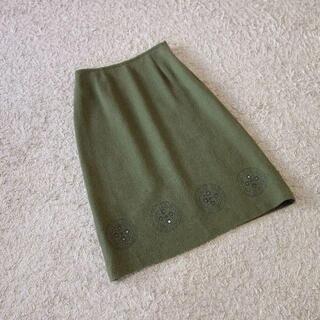 23区 - 23区/刺繍ウールスカート