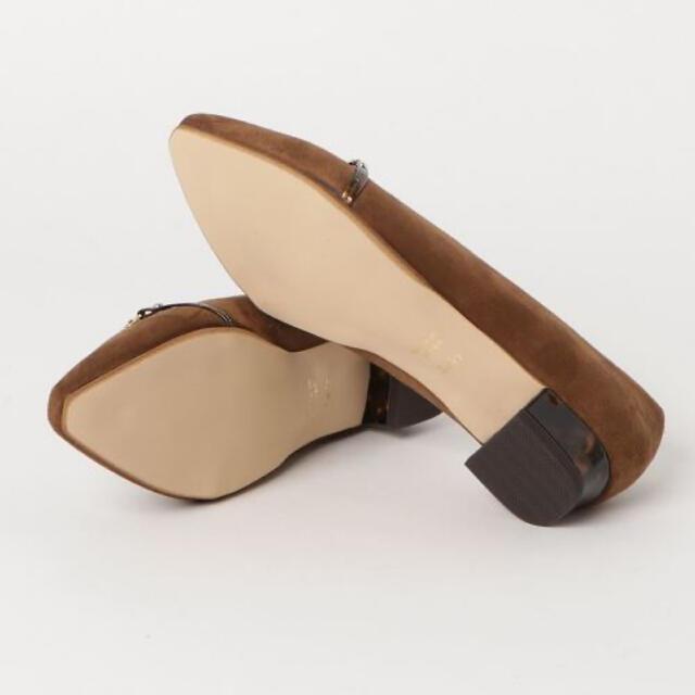 Le Talon(ルタロン)の(ルタロン)Le Talon  2.5cmベッコウヒールローファー レディースの靴/シューズ(ハイヒール/パンプス)の商品写真