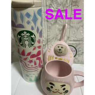 スターバックスコーヒー(Starbucks Coffee)のあやさん専用スターバックス 福袋 3点セット スタバ だるま(フード/ドリンク券)