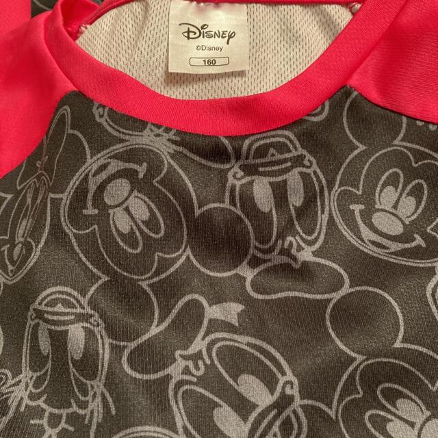 Disney(ディズニー)のディズニーのロングTシャツ キッズ/ベビー/マタニティのキッズ服女の子用(90cm~)(Tシャツ/カットソー)の商品写真