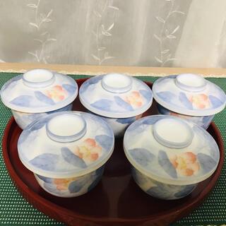 ノリタケ(Noritake)のノリタケ  乃りたけ 和食器 茶碗蒸し 5客セット 里の四季(食器)