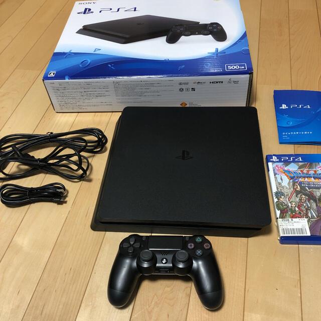 PlayStation4(プレイステーション4)のSONY PlayStation4 本体 CUH-2100AB01 エンタメ/ホビーのゲームソフト/ゲーム機本体(家庭用ゲーム機本体)の商品写真