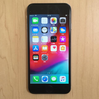Apple - 美品 iPhone6 64GB simフリー バッテリー100% 完動品