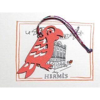 Hermes - エルメス プティアッシュ チャーム オウム ローズキャンディ