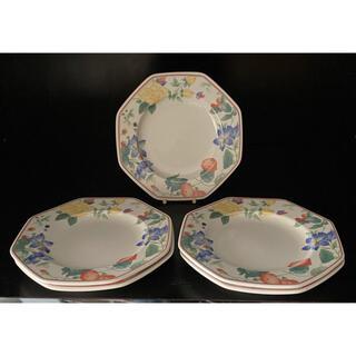 ミカサ(MIKASA)のOctagon 八角形 花柄 皿 5枚セット(食器)