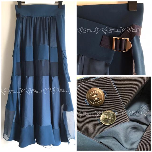 sacai(サカイ)の♡サカイ♡2020-21AW♡Solid Satin Skirt♡ レディースのスカート(ロングスカート)の商品写真