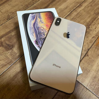 iPhone - iPhone Xs Max 本体 Gold 256 GB docomo