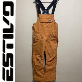 ESTIVO エスティボ パンツ ズボン ビブパンツ ビブパン オーバーオール(ウエア/装備)