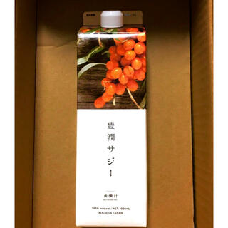 【健康面が気になる方】フィネス 豊潤サジー1000ml 黄酸汁【新品、未開封】