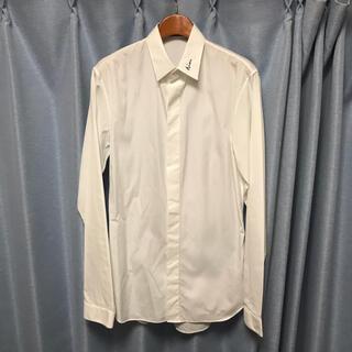 DIOR HOMME - 極美品18awディオールオムdiorhomme刺繍シャツ37