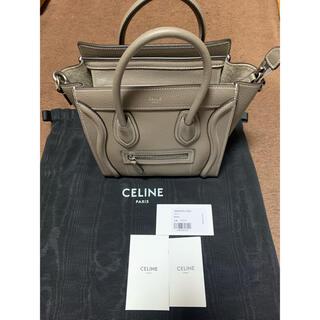 celine - 新品 CELINE セリーヌ ラゲージナノ スリ  フィービー