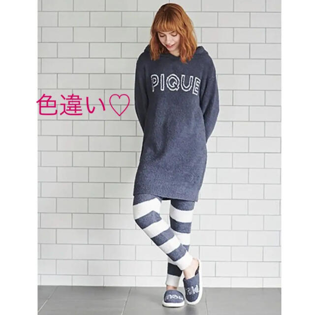 gelato pique(ジェラートピケ)のレア♡パウダーモチーフドレス♡ピンク レディースのルームウェア/パジャマ(ルームウェア)の商品写真
