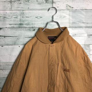 ヴァンズ(VANS)の《超希少》90s 古着 バンズ キルティング ジャケット 刺繍ロゴ ストリート(ブルゾン)