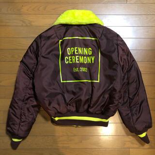 オープニングセレモニー(OPENING CEREMONY)のOPENING CEREMONY × ALPHA B-15ジャケット(フライトジャケット)