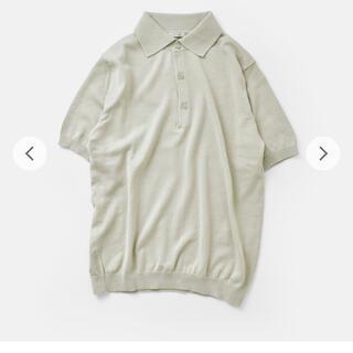 マーガレットハウエル(MARGARET HOWELL)のleno&co リノ サマーニットポロシャツ サマーニットセーター(ポロシャツ)