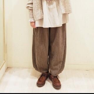 SM2 - 【新品タグ付】SM2  バルーン裾タックパンツ
