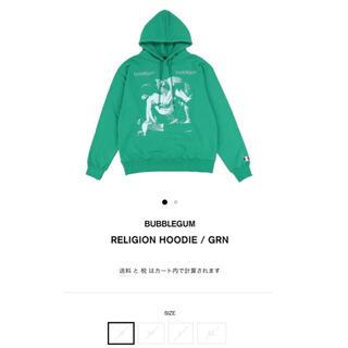 Supreme - bubblegum RELIGION HOODIE / GRN