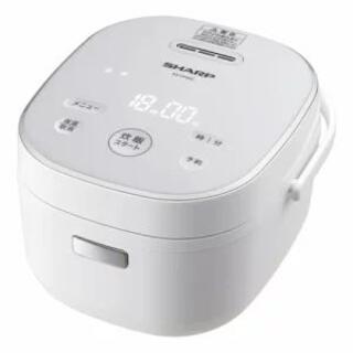 シャープ KS-CF05C-W(ホワイト) ジャー炊飯器 3合