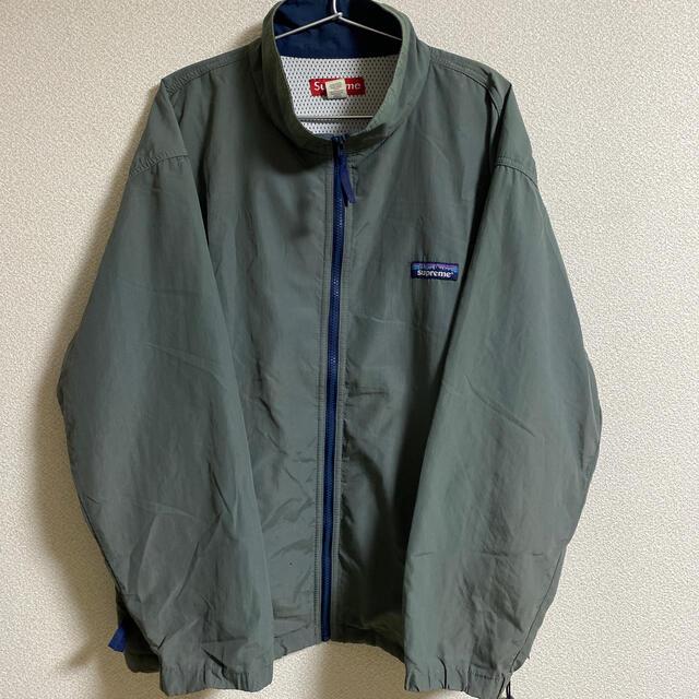 Supreme(シュプリーム)のシュプリーム パタゴニアロゴ ナイロンジャケット 初期 激レア メンズのジャケット/アウター(ナイロンジャケット)の商品写真