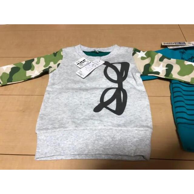 西松屋(ニシマツヤ)のまとめ売り キッズ/ベビー/マタニティのベビー服(~85cm)(トレーナー)の商品写真