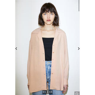 moussy - DRAPE LOOSE SHIRT