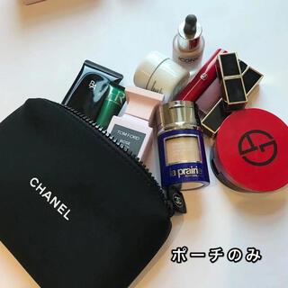 CHANEL - 未使用 シャネル  非売品 メークポーチ 黒
