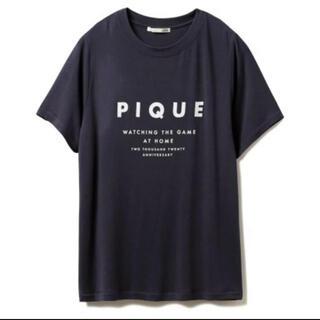 ジェラートピケ(gelato pique)のジェラートピケ アニバーサリー ロゴTシャツ 新品 未使用(ルームウェア)