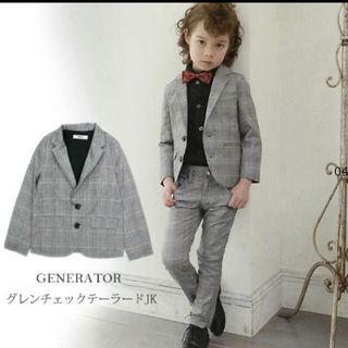 ジェネレーター(GENERATOR)のジェネレーター スーツ 110 グレンチェック(ドレス/フォーマル)