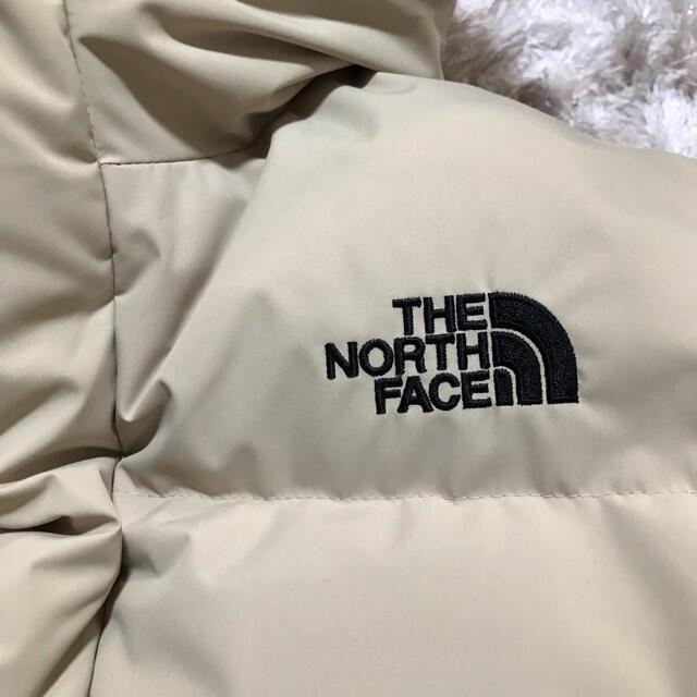THE NORTH FACE(ザノースフェイス)の完売品♡ノースフェイス ダウン キッズ 160 ベージュ レディースS レディースのジャケット/アウター(ダウンジャケット)の商品写真