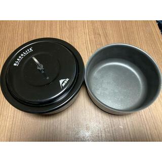 エムエスアール(MSR)の廃盤希少! MSR ブラックライト クックセット 美品 (調理器具)