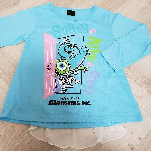 Disney(ディズニー)のモンスターズインク ロンT 120 キッズ/ベビー/マタニティのキッズ服女の子用(90cm~)(Tシャツ/カットソー)の商品写真