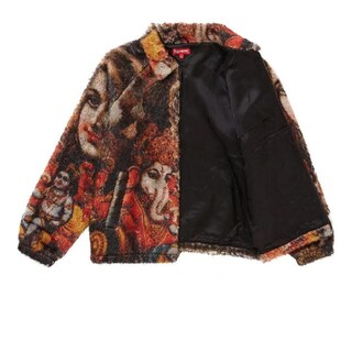 Supreme Ganesh Faux Fur Jacket Black