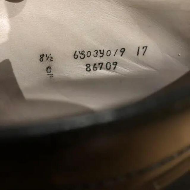 Alden(オールデン)のAlden レザーソウル別注6アイレット チャッカブーツ コードバン 最終値下げ メンズの靴/シューズ(ドレス/ビジネス)の商品写真