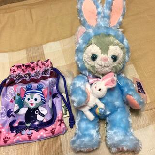 Disney - ジェラトーニ 香港ディズニー 巾着付き