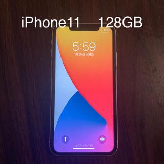 Apple - iPhone11 128GB ホワイト 美品