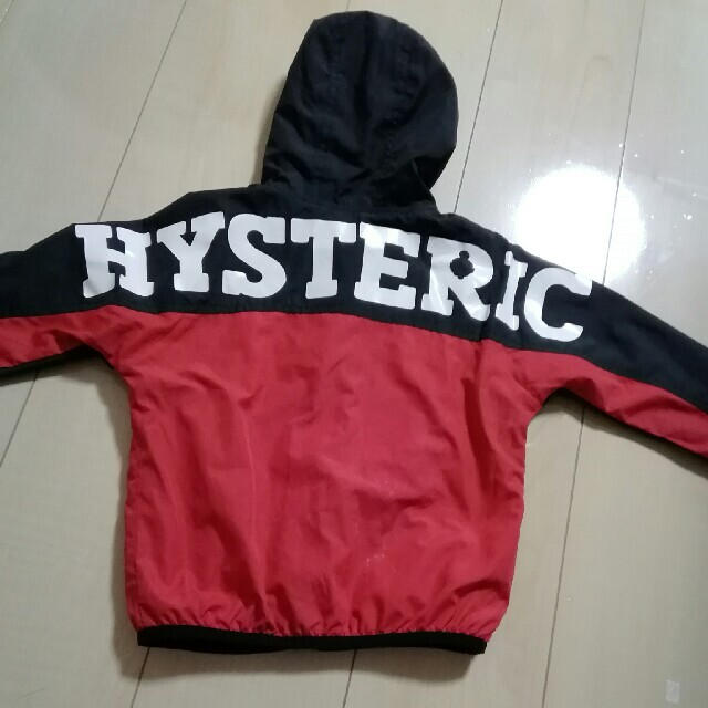 HYSTERIC MINI(ヒステリックミニ)のリバーシブルパーカー キッズ/ベビー/マタニティのキッズ服男の子用(90cm~)(ジャケット/上着)の商品写真