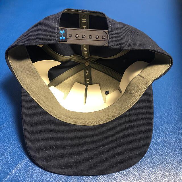 UNDER ARMOUR(アンダーアーマー)の新品 アンダーアーマー キャップ 帽子 紺 ネイビー メンズの帽子(キャップ)の商品写真