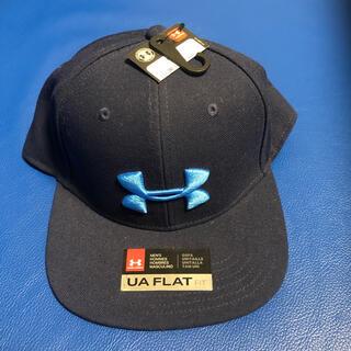 アンダーアーマー(UNDER ARMOUR)の新品 アンダーアーマー キャップ 帽子 紺 ネイビー(キャップ)