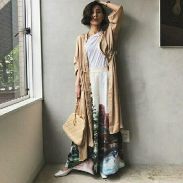 Ameri VINTAGE(アメリヴィンテージ)のAMERI AUDREY WIDE PANTS レディースのパンツ(カジュアルパンツ)の商品写真