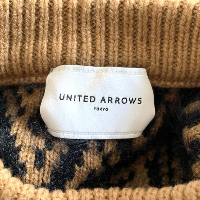 UNITED ARROWS(ユナイテッドアローズ)の定価20900円 ユナイテッドアローズ モールジャカード ニット レディースのトップス(ニット/セーター)の商品写真