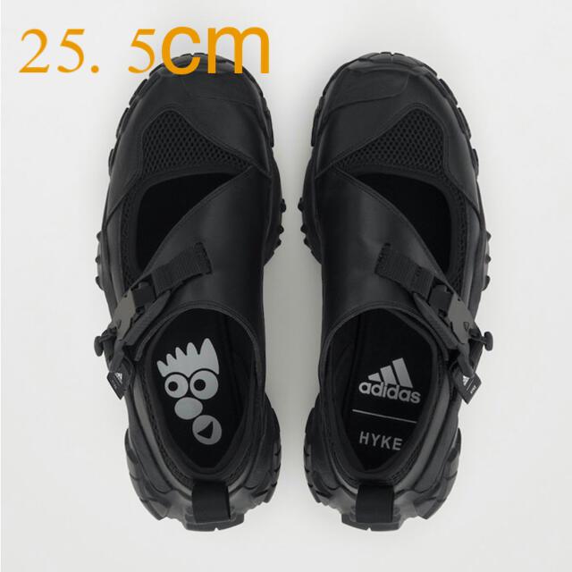 HYKE(ハイク)のadidas  HYKE  AHー003 black 25.5cm レディースの靴/シューズ(スニーカー)の商品写真