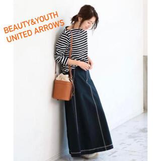 ビューティアンドユースユナイテッドアローズ(BEAUTY&YOUTH UNITED ARROWS)のビューティーアンドユース ステッチスカート(ロングスカート)