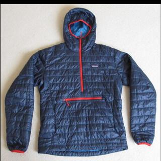 patagonia - 極美品!パタゴニアメンズ ナノパフ・ビビー・プルオーバー メンズS(M相当)紺色